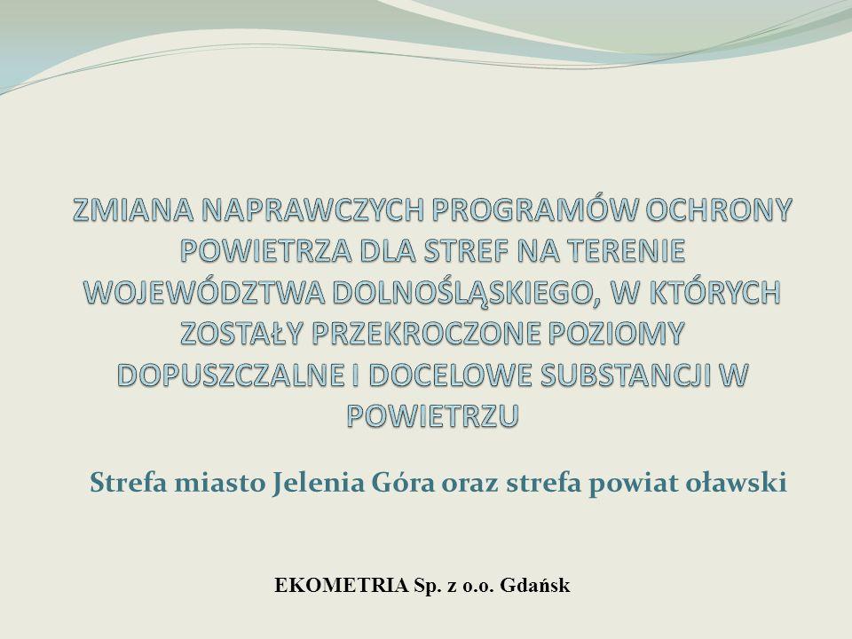 Strefa miasto Jelenia Góra oraz strefa powiat oławski EKOMETRIA Sp. z o.o. Gdańsk