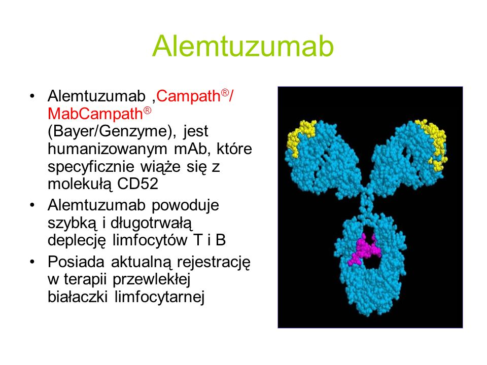 Kumulacyjna liczba rzutów P <0.0001 72%87% Redukcja ryzyka Annualized Relapse Rate (95% C.I.) Interferon-beta 1a 0.35 (0.27, 0.44) Alemtuzumab Low-Dose 0.11 (0.07, 0.16) Alemtuzumab High-Dose 0.05 (0.03, 0.09) Number needed to treat with alemtuzumab to prevent an additional patient from having a relapse over 2 years, compared to IFNB-1a 3.3 - 4.1