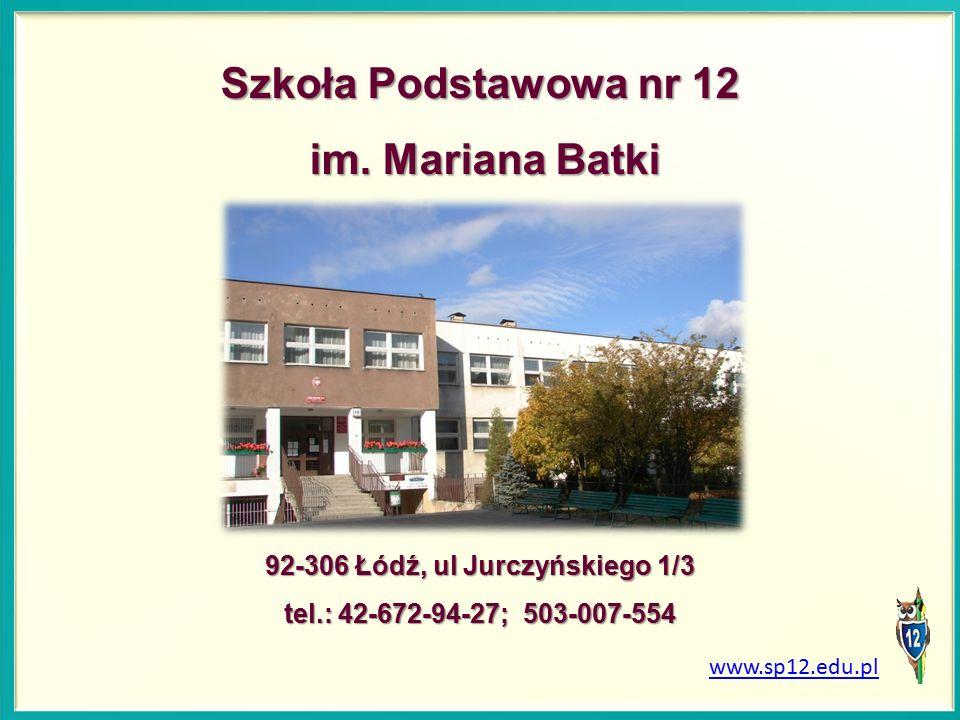 Szkoła Podstawowa nr 12 im.