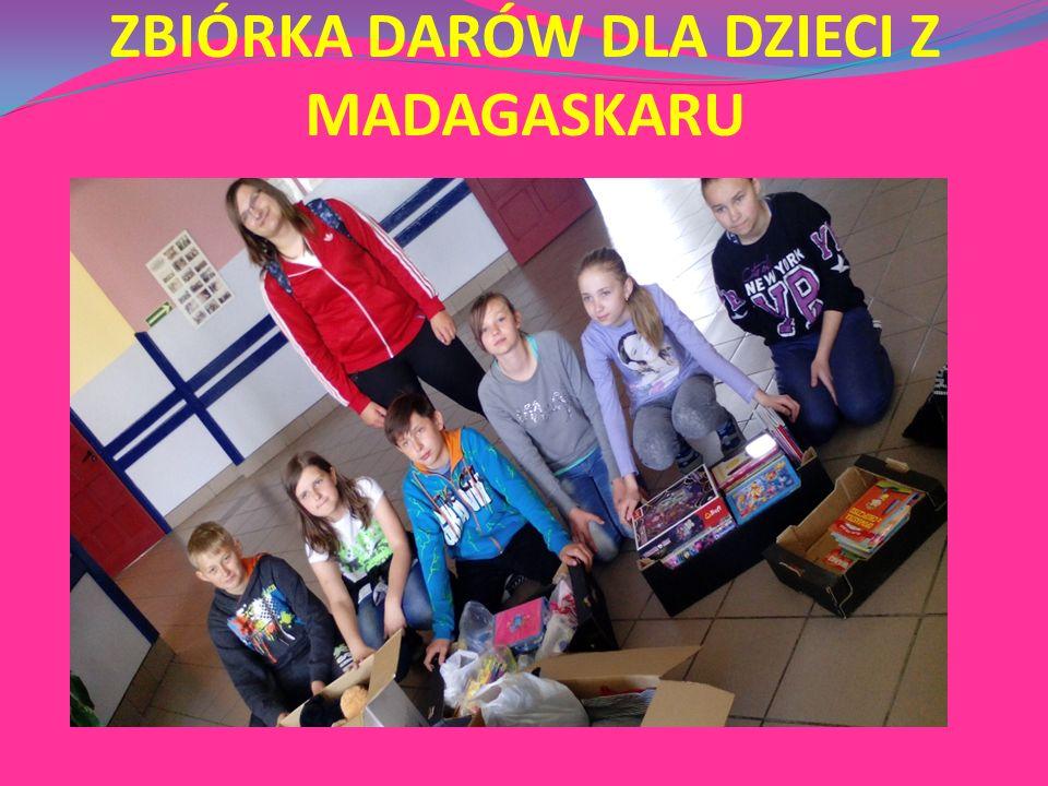 ZBIÓRKA DARÓW DLA DZIECI Z MADAGASKARU