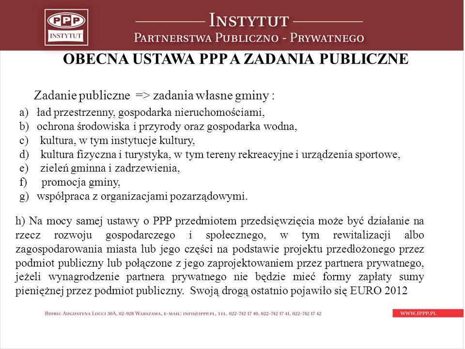OBECNA USTAWA PPP c.d.