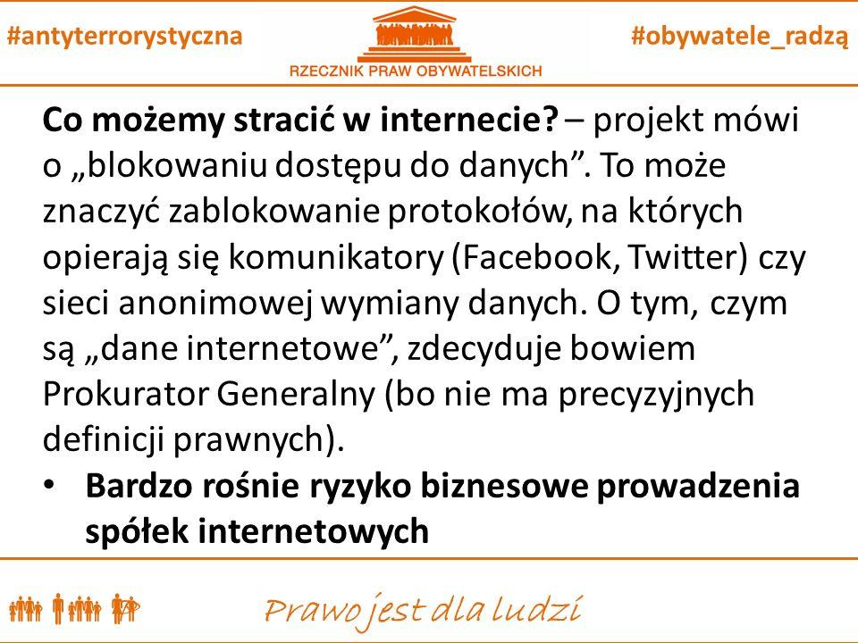  P Prawo jest dla ludzi #obywatele_radzą#antyterrorystyczna Co możemy stracić w internecie.