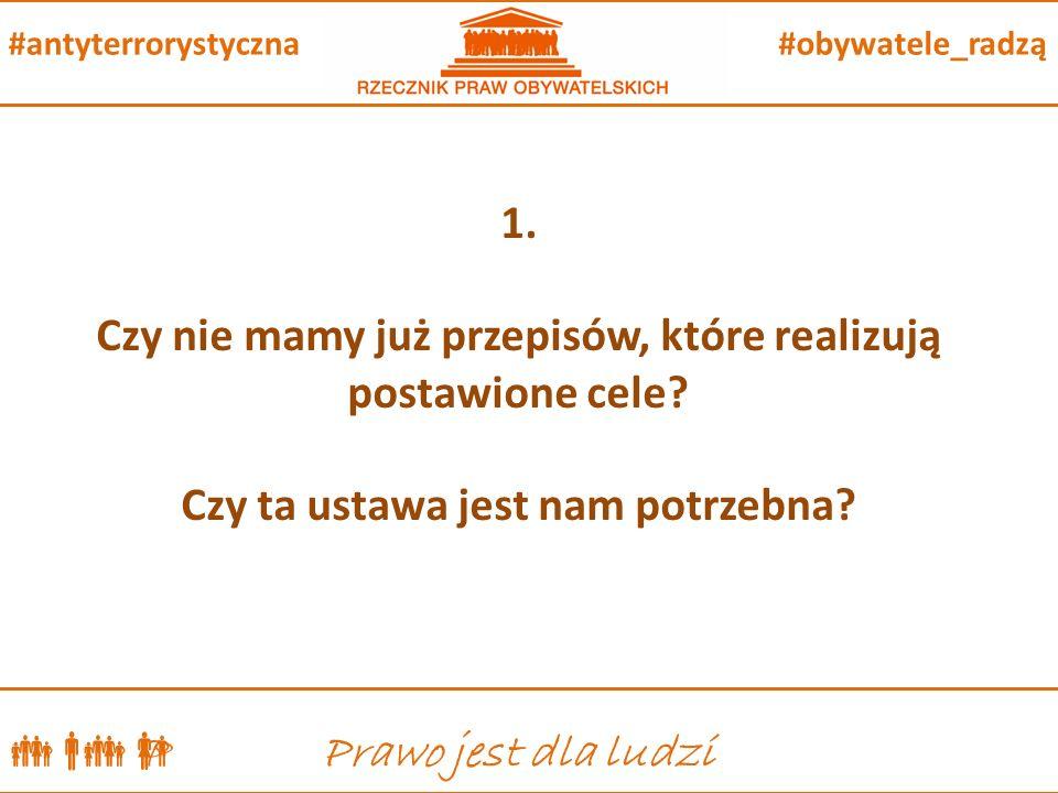  P Prawo jest dla ludzi #obywatele_radzą#antyterrorystyczna 1.