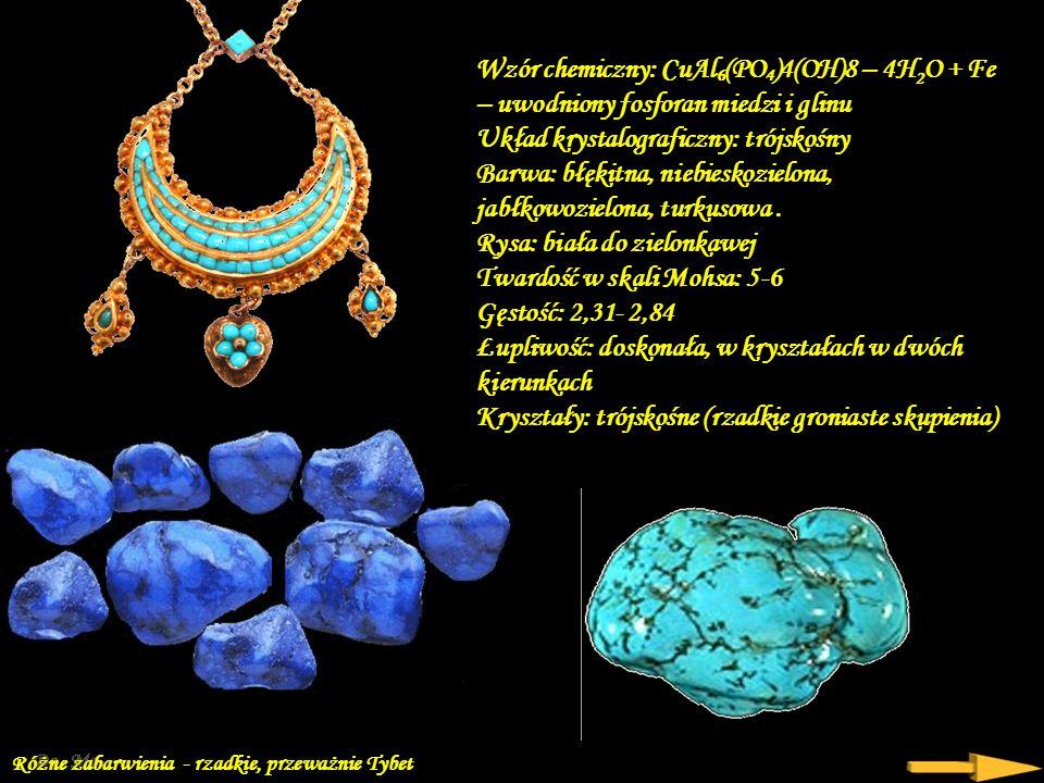 Turkus (kalait) – minerał z gromady fosforanów. Należy do grupy minerałów rzadkich.