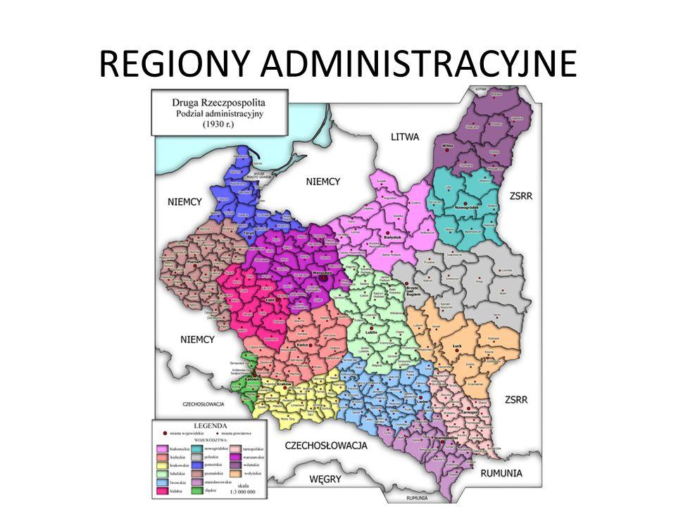 REGIONY ADMINISTRACYJNE
