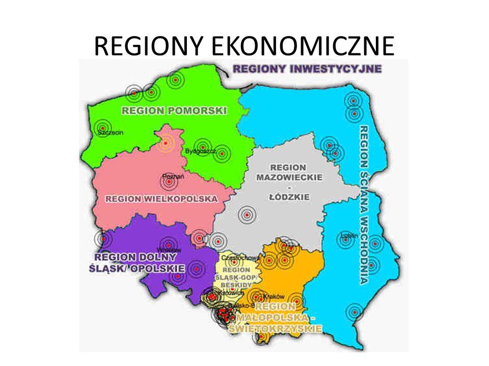 REGIONY STATYSTYCZNE