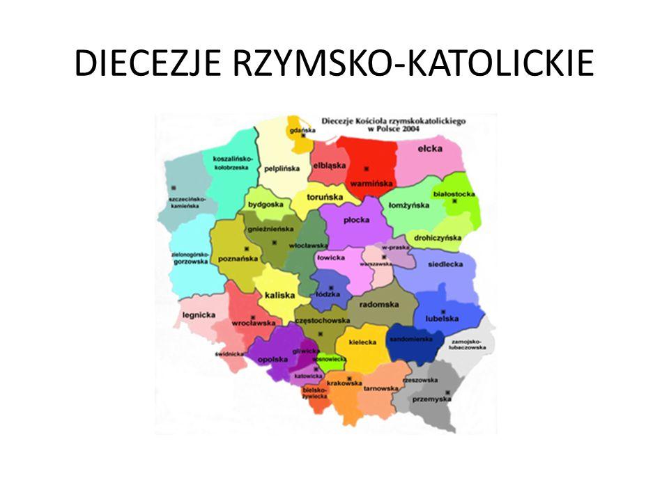 DIECEZJE RZYMSKO-KATOLICKIE