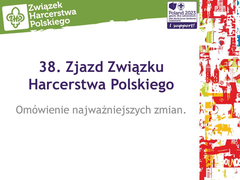 38. Zjazd Związku Harcerstwa Polskiego Omówienie najważniejszych zmian.
