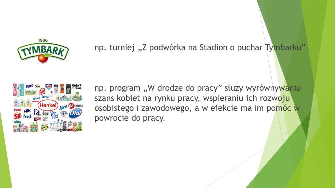 """np. turniej """"Z podwórka na Stadion o puchar Tymbarku np."""