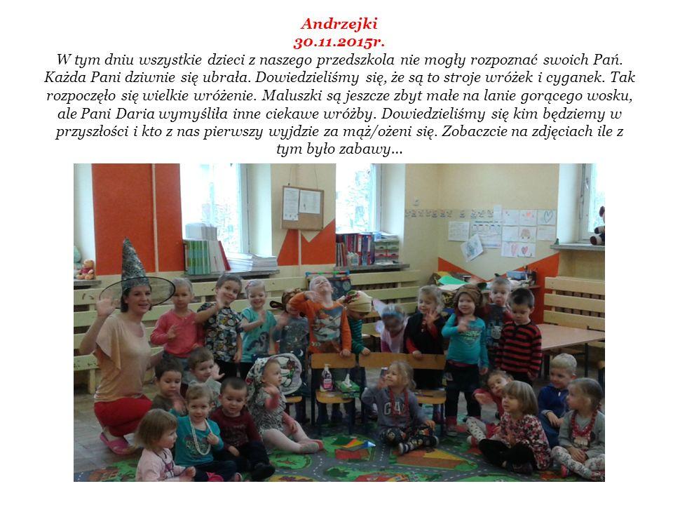 Andrzejki 30.11.2015r.