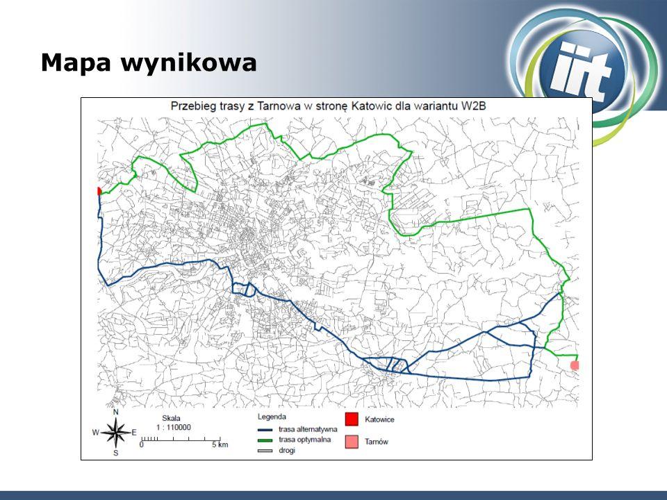 Mapa wynikowa