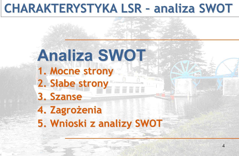 4 Analiza SWOT 1. Mocne strony 2. Słabe strony 3.