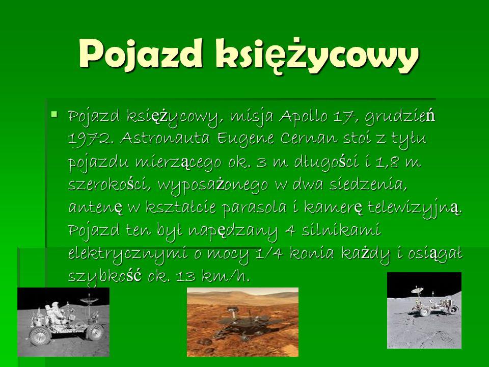Pojazd ksi ęż ycowy  Pojazd ksi ęż ycowy, misja Apollo 17, grudzie ń 1972.