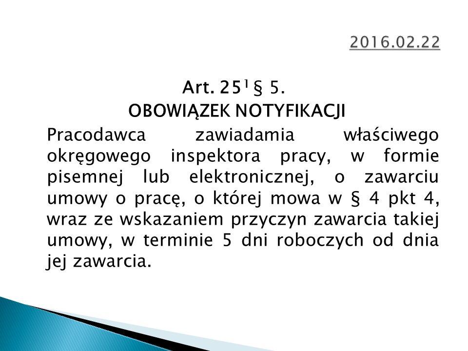 Art. 25 1 § 5.