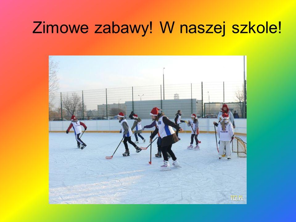 Zimowe zabawy! W naszej szkole!