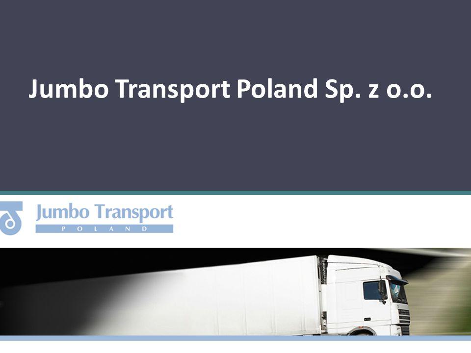 1.Dane firmy: Nazwa : Jumbo Transport Poland Sp. z o.o.