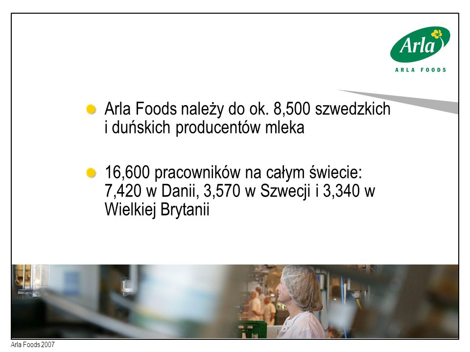 Arla Foods należy do ok.