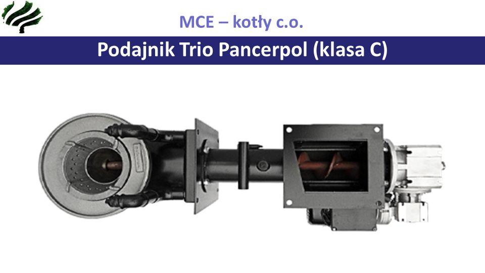 Podajnik Trio Pancerpol (klasa C) MCE – kotły c.o.