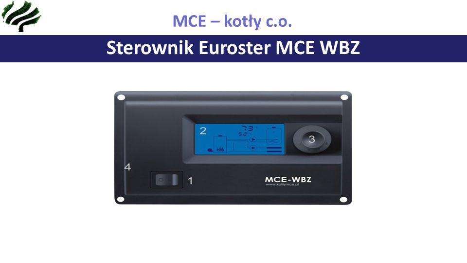 Sterownik Euroster MCE WBZ MCE – kotły c.o.