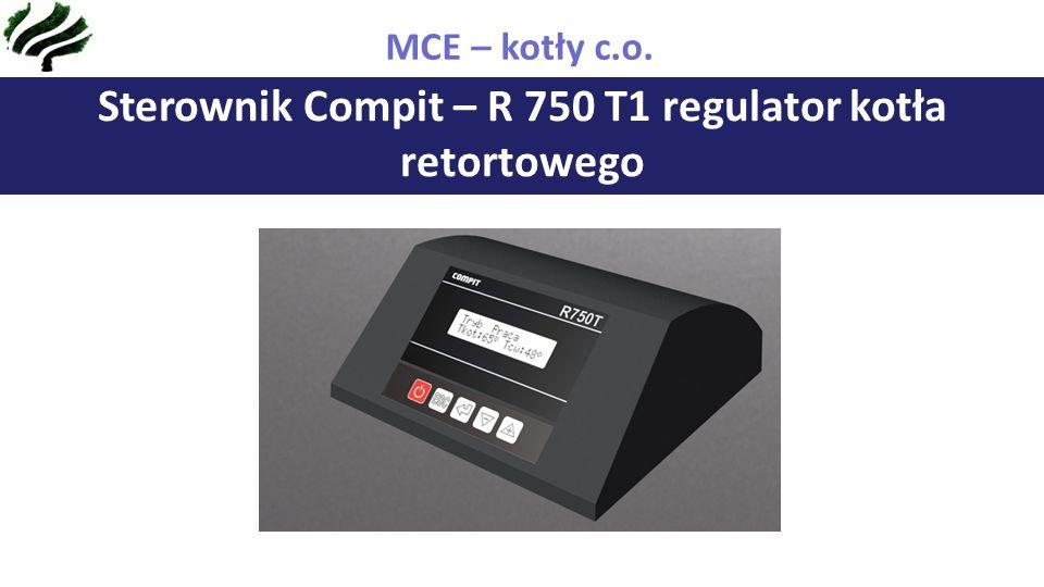 Sterownik Compit – R 750 T1 regulator kotła retortowego MCE – kotły c.o.