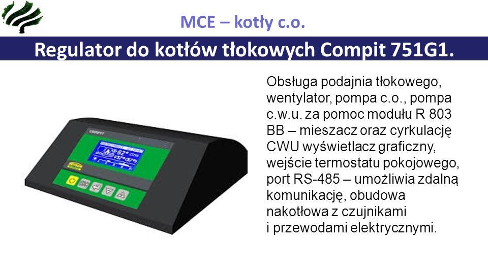 Regulator do kotłów tłokowych Compit 751G1.MCE – kotły c.o.