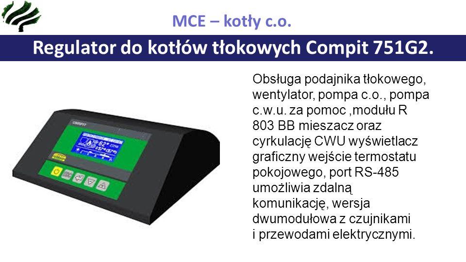 Regulator do kotłów tłokowych Compit 751G2.MCE – kotły c.o.