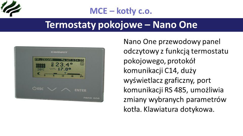 Termostaty pokojowe – Nano One MCE – kotły c.o.
