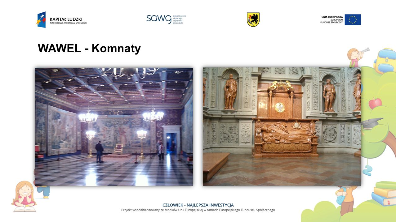 WAWEL - Komnaty