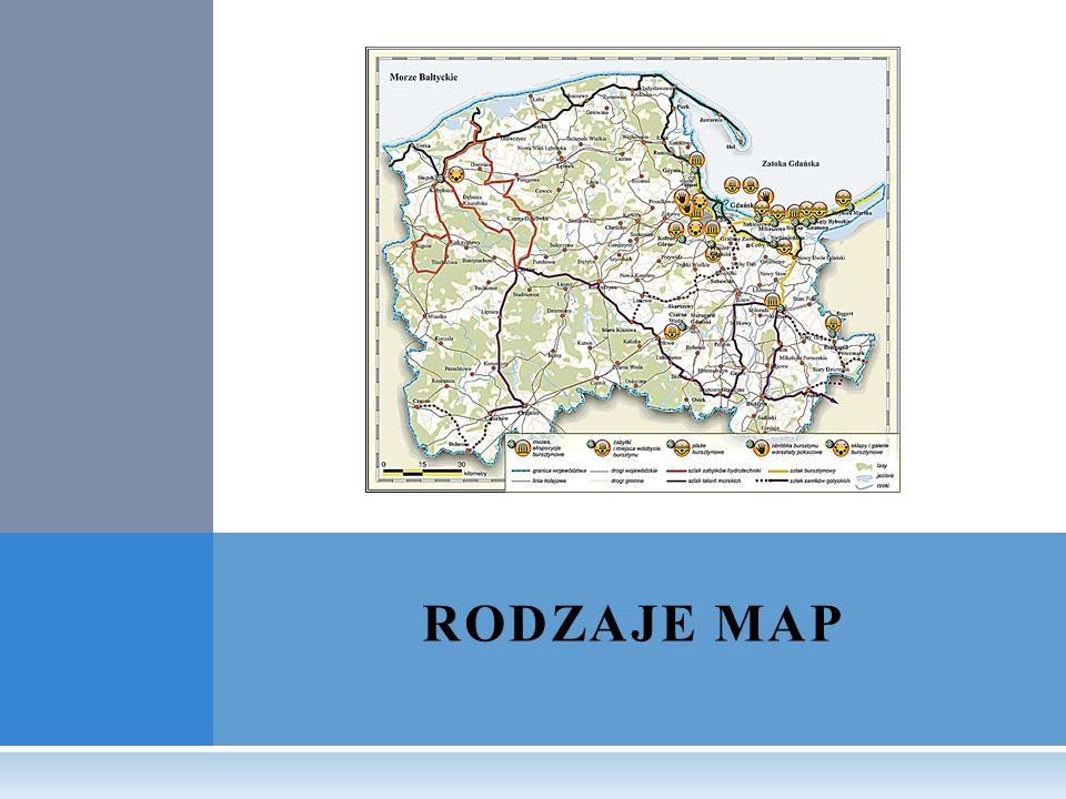 RODZAJE MAP