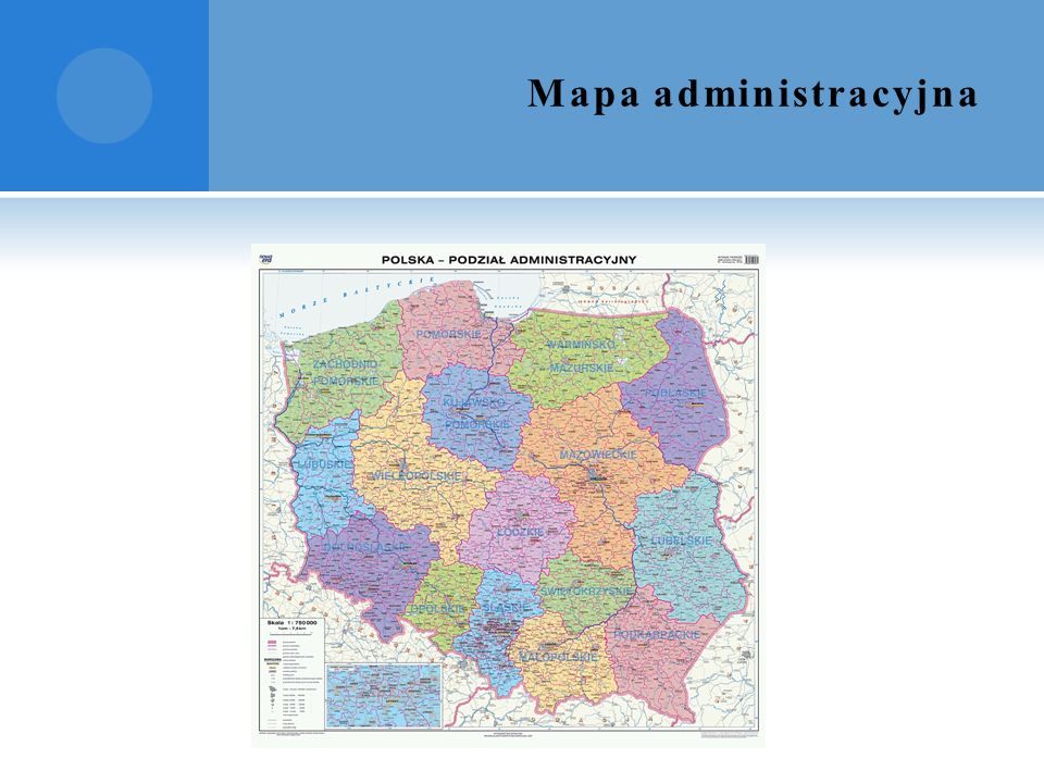 Mapa administracyjna