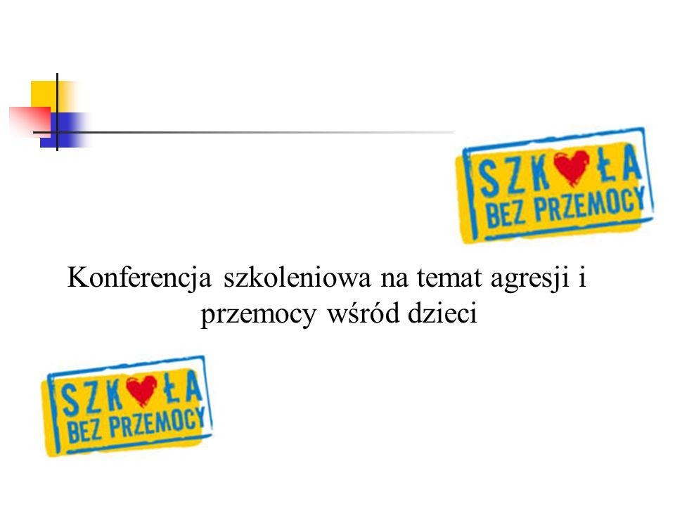 Konferencja szkoleniowa na temat agresji i przemocy wśród dzieci