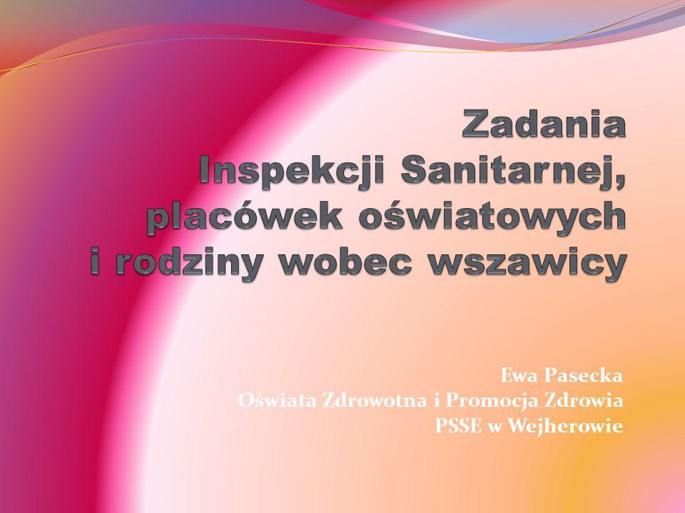Ewa Pasecka Oświata Zdrowotna i Promocja Zdrowia PSSE w Wejherowie