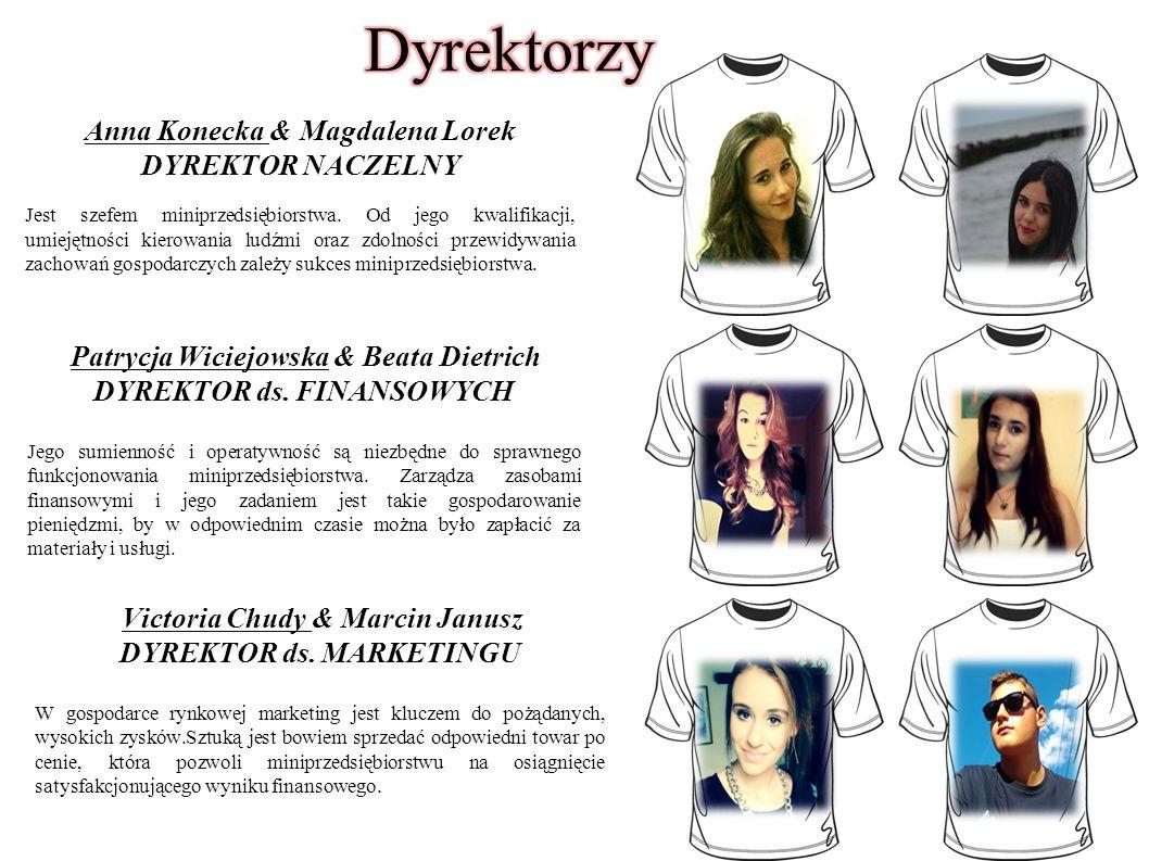 Anna Konecka & Magdalena Lorek DYREKTOR NACZELNY Jest szefem miniprzedsiębiorstwa. Od jego kwalifikacji, umiejętności kierowania ludźmi oraz zdolności