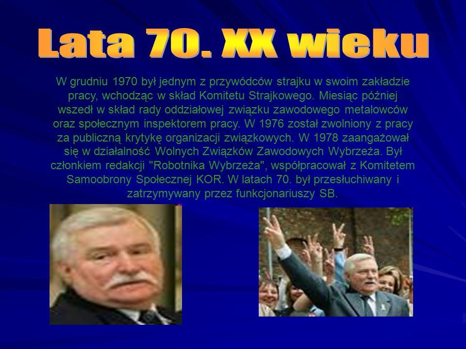 W grudniu 1970 był jednym z przywódców strajku w swoim zakładzie pracy, wchodząc w skład Komitetu Strajkowego.