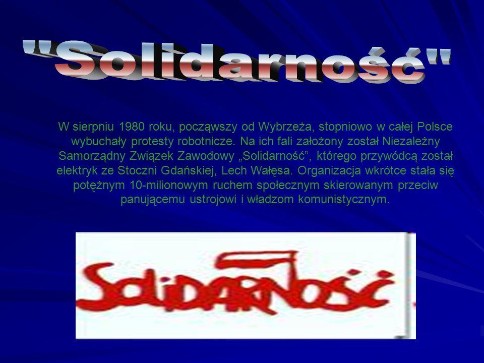 W sierpniu 1980 roku, począwszy od Wybrzeża, stopniowo w całej Polsce wybuchały protesty robotnicze. Na ich fali założony został Niezależny Samorządny