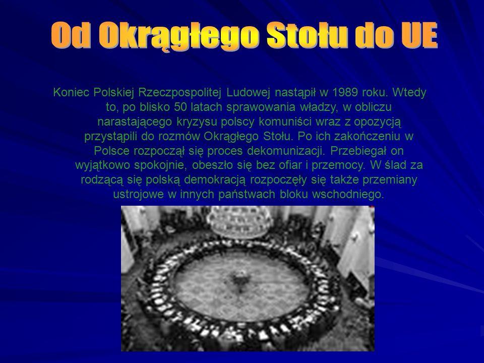 Koniec Polskiej Rzeczpospolitej Ludowej nastąpił w 1989 roku. Wtedy to, po blisko 50 latach sprawowania władzy, w obliczu narastającego kryzysu polscy