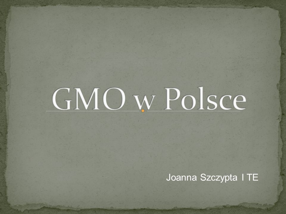 Joanna Szczypta I TE