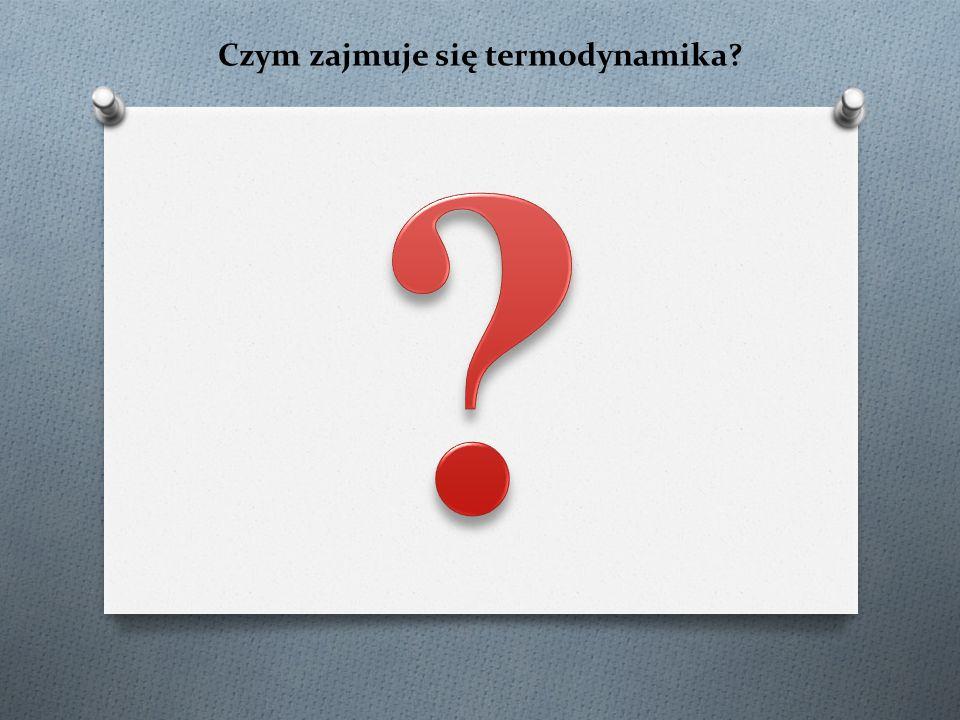 Czym zajmuje się termodynamika?