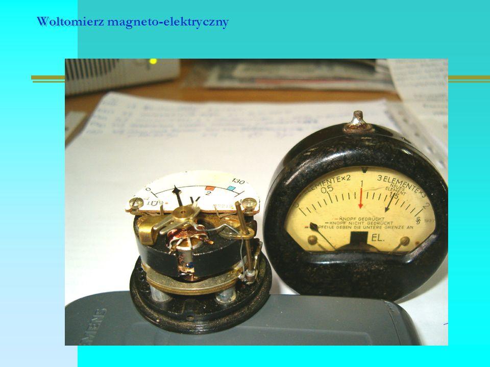 Woltomierz magneto-elektryczny