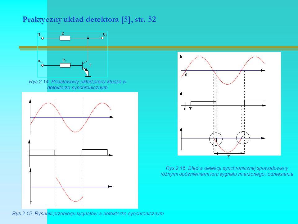 Praktyczny układ detektora [5], str.52 Rys.2.14.