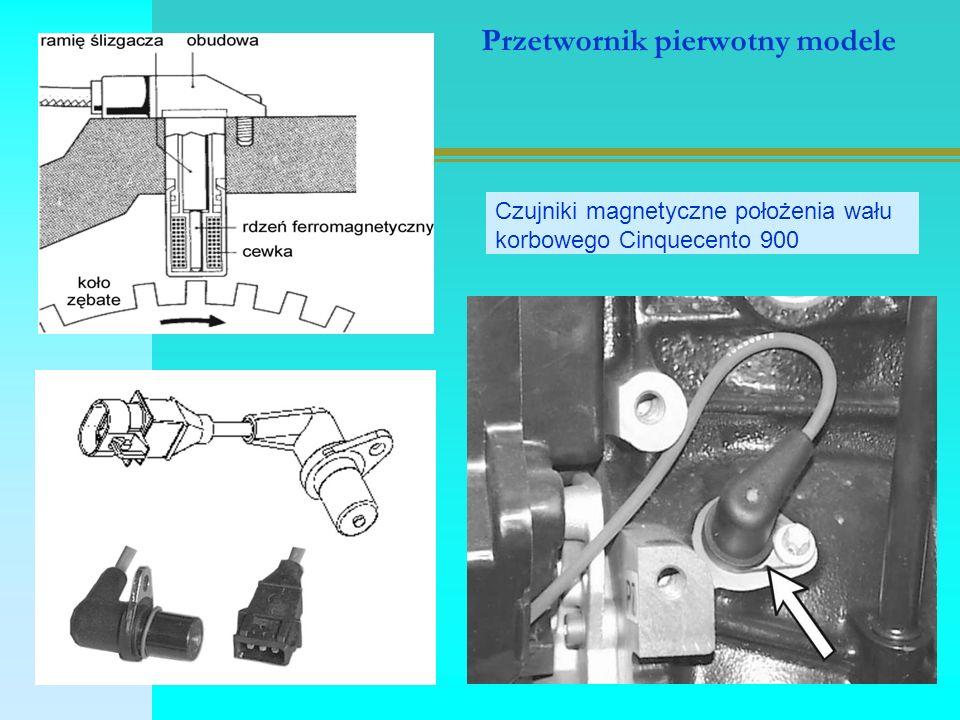 Przetwornik pierwotny modele Czujniki magnetyczne położenia wału korbowego Cinquecento 900