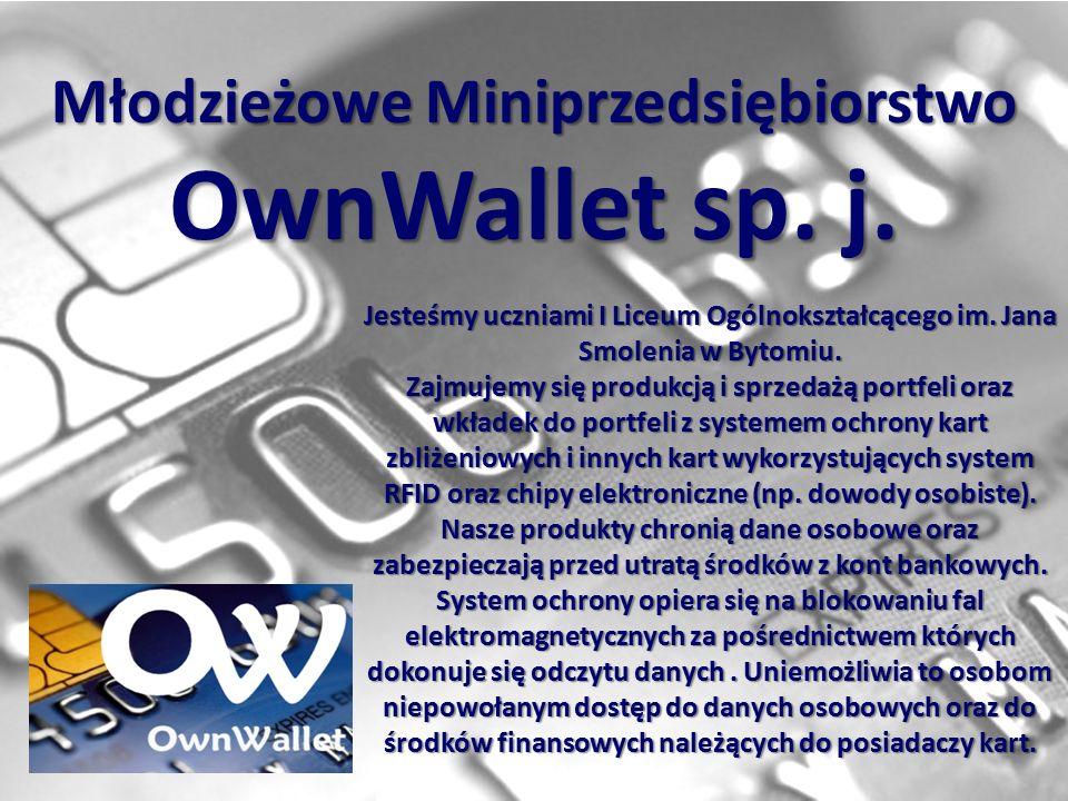 Młodzieżowe Miniprzedsiębiorstwo OwnWallet sp. j.