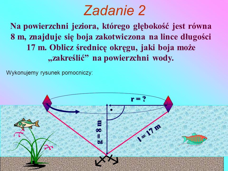   Zadanie 2 r = .