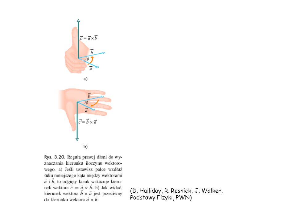 (D. Halliday, R. Resnick, J. Walker, Podstawy Fizyki, PWN)