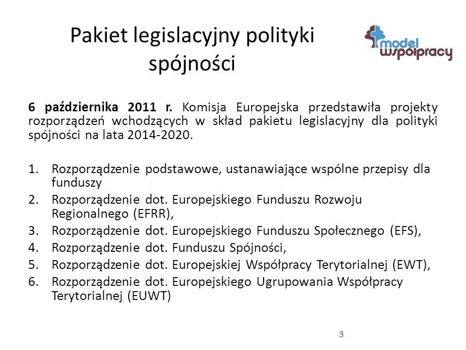 Propozycja budżetu przyszłej polityki spójności 4 W celu utrzymania obecnego poziomu finansowania, do Polski powinna być skierowana ponad jedna trzecią środków przewidzianych dla regionów słabiej rozwiniętych