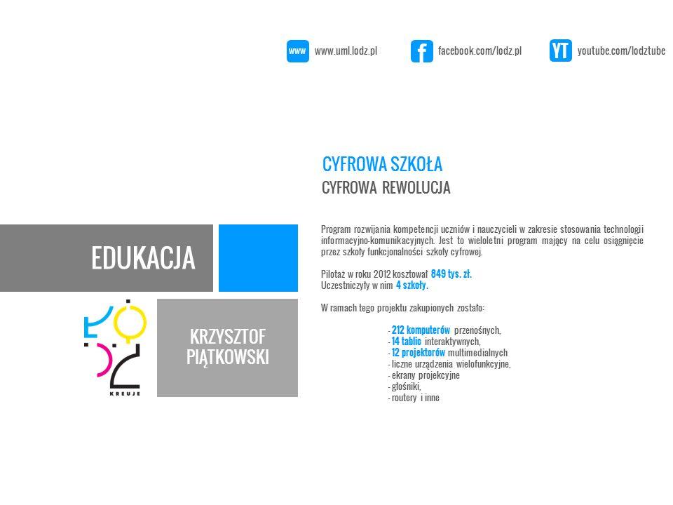 EDUKACJA KRZYSZTOF PIĄTKOWSKI Program rozwijania kompetencji uczniów i nauczycieli w zakresie stosowania technologii informacyjno-komunikacyjnych.