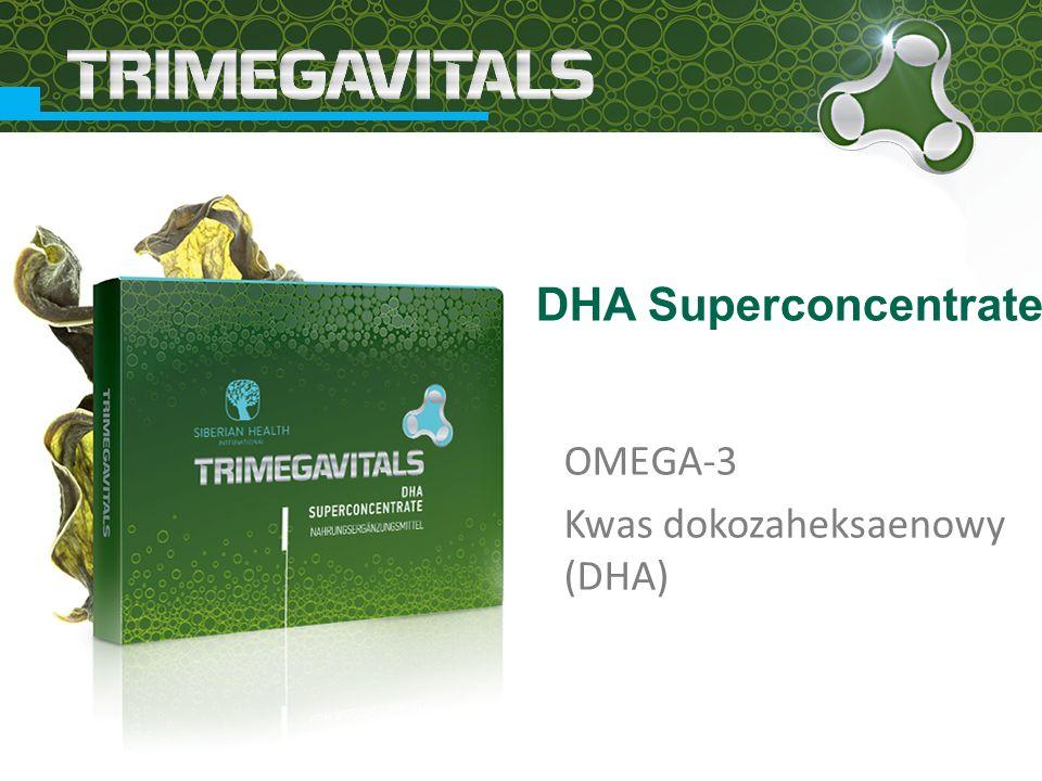 OMEGA-3 Kwas dokozaheksaenowy (DHA) DHA Superconcentrate