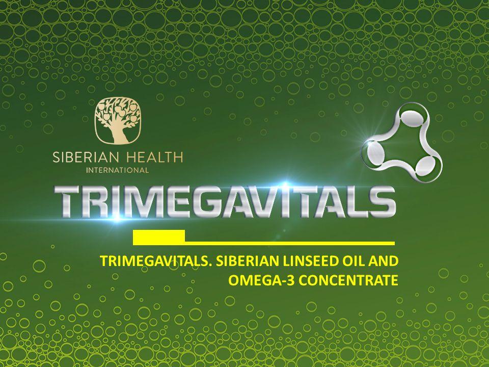 SIBERIAN LINSEED OIL AND OMEGA-3 CONCENTRATE Kwasy OMEGA-3 Kwas eikozapentaenowy (EPA) Kwas dokozaheksaenowy (DHA)