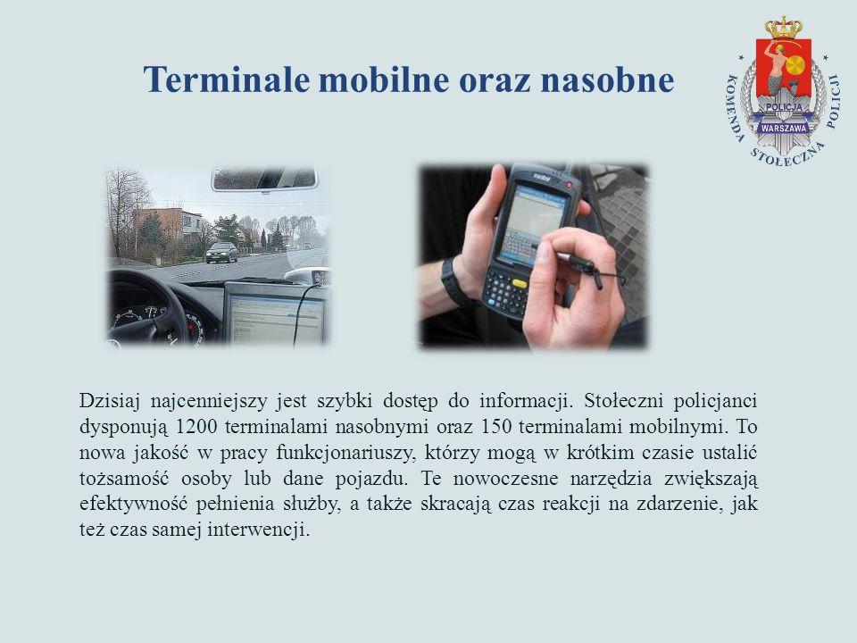 Terminale mobilne oraz nasobne Dzisiaj najcenniejszy jest szybki dostęp do informacji.