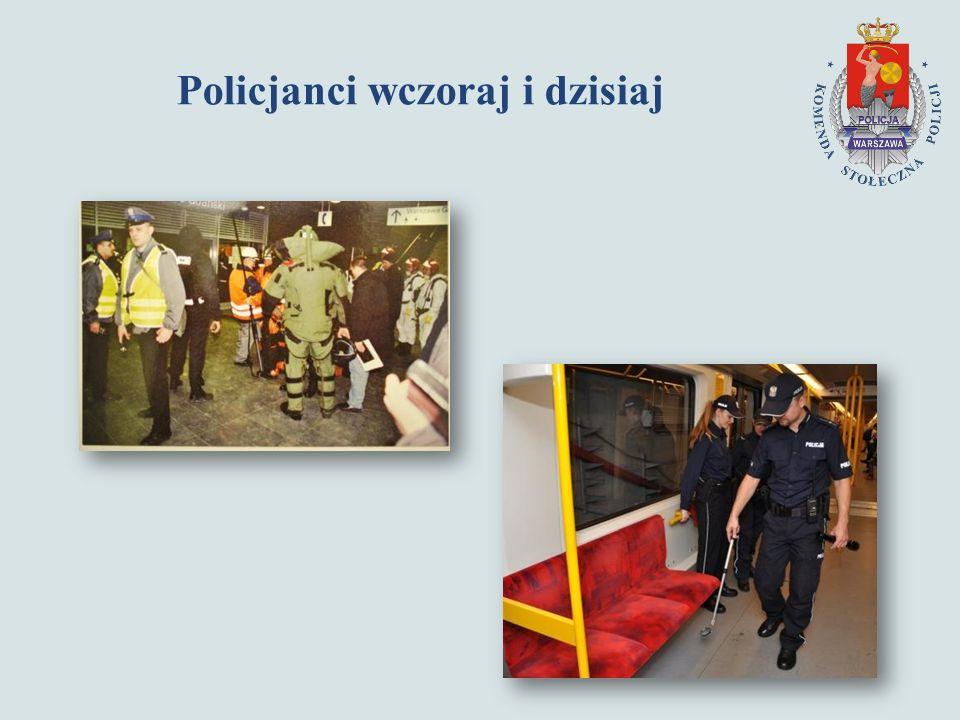 Policjanci wczoraj i dzisiaj